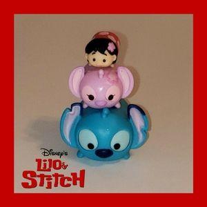 Disney Tsum Tsum 3 Piece Set - Lilo & Stitch